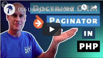 Using Doctrine ORM Paginator in your PHP project for pagination in a REST API