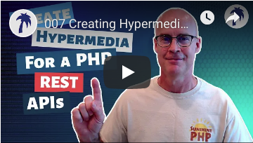 Creating Hypermedia (HAL) for a REST API in your PHP project