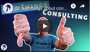10 bad things about consulting, and why it might not be for you